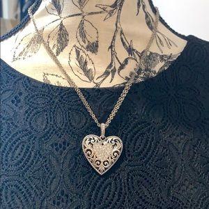 Brighton heart necklace
